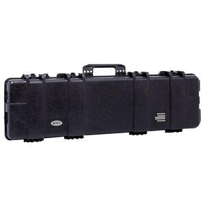 "Boyt H48SG Single Long Gun Case 50""x12.5""x5"" Water Resistant O-Ring Full Length Gasket High Density Egg Crate Foam Injection Molded Hard Case Matte Black Finish"