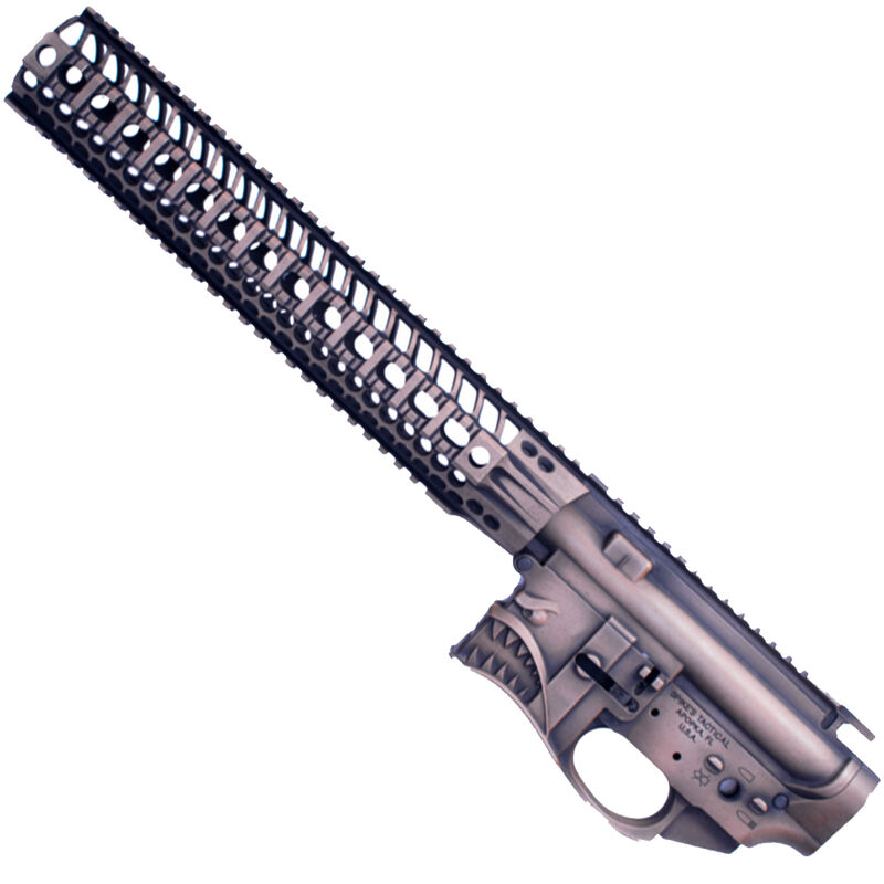 Spikes Tactical Hellbreaker Stripped Lower/Upper Set AR-15 Matched Stripped  Upper and Lower Receiver Set with 12