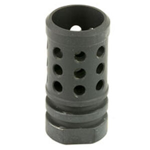 Angstadt Arms Flash Hider 9mm Luger Threaded 1/2x36 4041 Hardened Steel Nitride Finish Matte Black