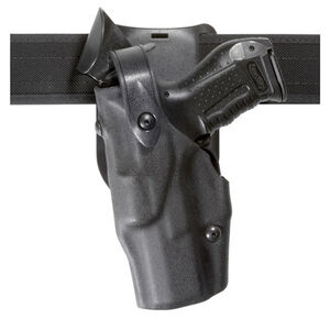 Safariland Model 6365 ALS/SLS Low-Ride Duty Belt Holster Left Hand Fits Beretta 92/M9A1 Hardshell STX Tactical Black