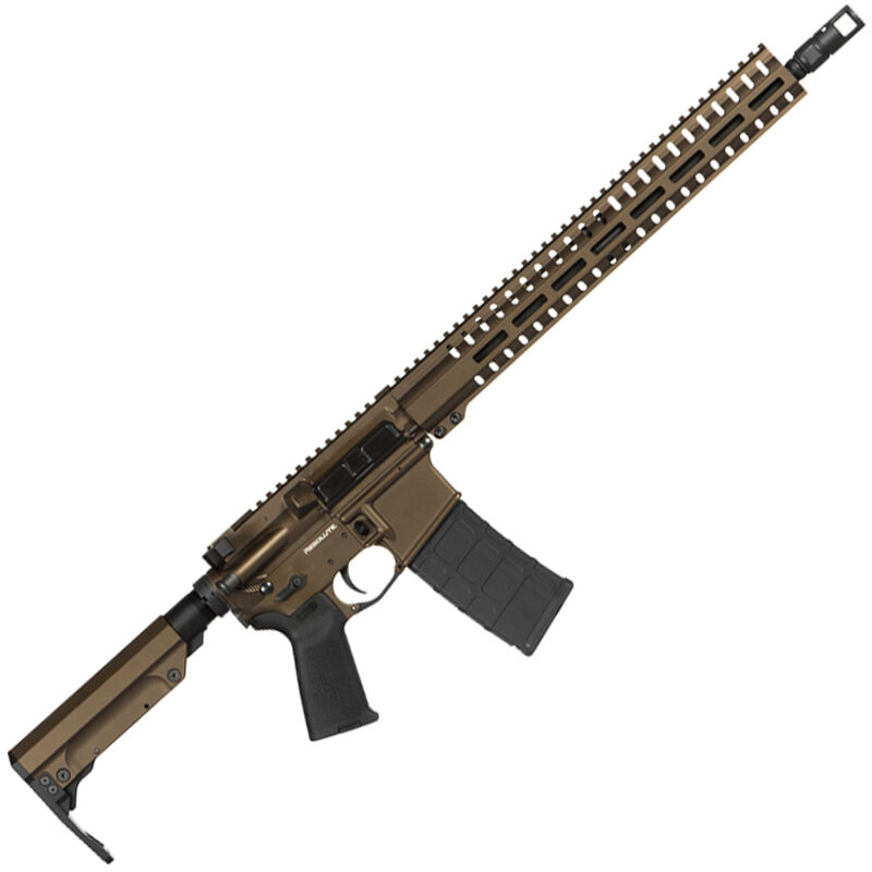 "CMMG Resolute 300 Mk4 .300 Blackout AR-15 Semi Auto Rifle 16"" Barrel 30 Rounds RML15 M-LOK Handguard RipStock Collapsible Stock Midnight Bronze Finish"