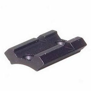 No. 46M Base Browning Savage Win & Others Standard Detachable Top-Mount Base Front Black Matte