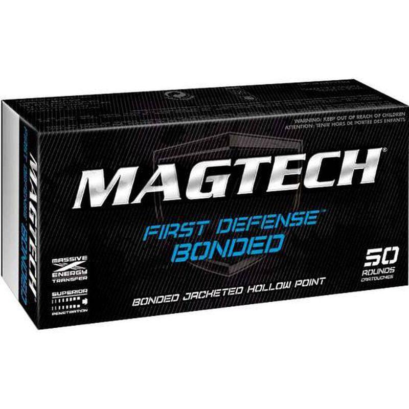 Magtech First Defense 9mm Luger Ammunition 50 Rounds Subsonic Bonded JHP 147 Grains 9BONC