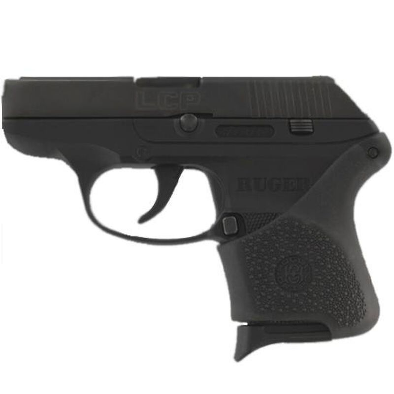 Hogue Handall Hybrid Grip Sleeve Ruger LCP Cobblestone Rubber Black 18100