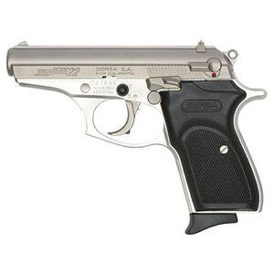 "Bersa Thunder Semi Automatic Handgun .22 LR 3.5"" Barrel 10 Rounds Polymer Grips 3 Dot Sights Alloy Frame Satin Nickel Finish T22NKL"