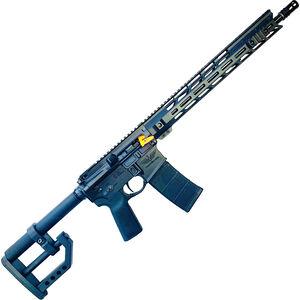 "CheyTac CT-15 5.56 NATO AR-15 Semi Auto Rifle 16"" Barrel Free Float M-LOK Handguard Custom CheyTac 'D' Stock Black"