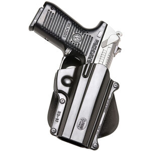 Fobus Roto-Paddle/Belt Holster CZ P-01/Ruger P90/Taurus PT24/7 Right Hand Polymer Black RU97RP