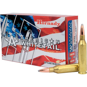Hornady .243 Winchester Ammunition 20 Rounds BTSP 100 Grains