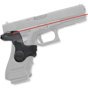 Crimson Trace Lasergrip GLOCK 17, 17L, 19, 22, 23, 31, 32, 34, 35, 37, 38 Polymer Black LG-411