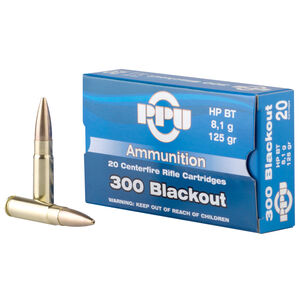 Prvi Partizan .300 AAC Blackout Ammunition 20 Rounds FMJ 125 Grains