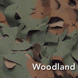 Camo Unlimited Premium Series Broadleaf Ultra Lite Netting 5'x30' 3D Leaf Like Foliage Woodland