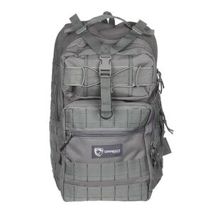 """Drago Gear Atlus Sling Backpack 600D Polyester 19"""" x 11"""" x 10"""" SEAL Gray 14308GY"""