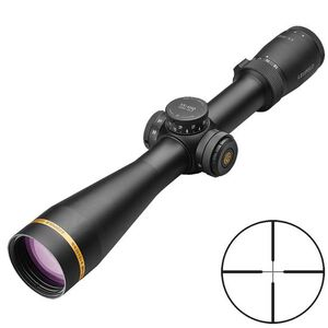 Leupold VX-6HD 3-18x44 Riflescope Illuminated FireDot Duplex Reticle 30mm Tube .25 MOA Adjustments Second Focal Plane Aluminum Matte Black