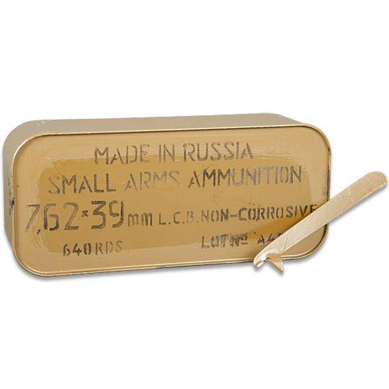 TulAmmo 7.62x39mm Ammuntion 640 Rounds 122 Grain Zinc JHP Steel Cased 2330 fps