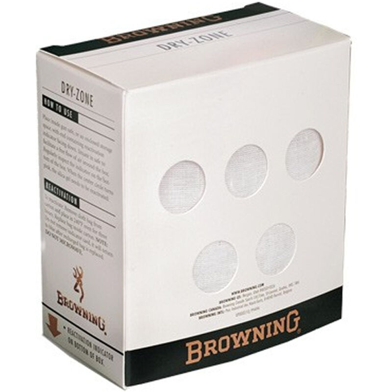Browning Dry-Zone Moisture Absorbing Desiccant Rechargeable 500 Gram Box