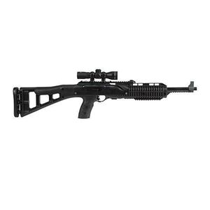 "Hi-Point 995TS4x Semi Automatic Carbine 9mm 16.5"" Barrel 10 Rounds Includes 4x Riflescope Black Polymer Skeletonized Stock"
