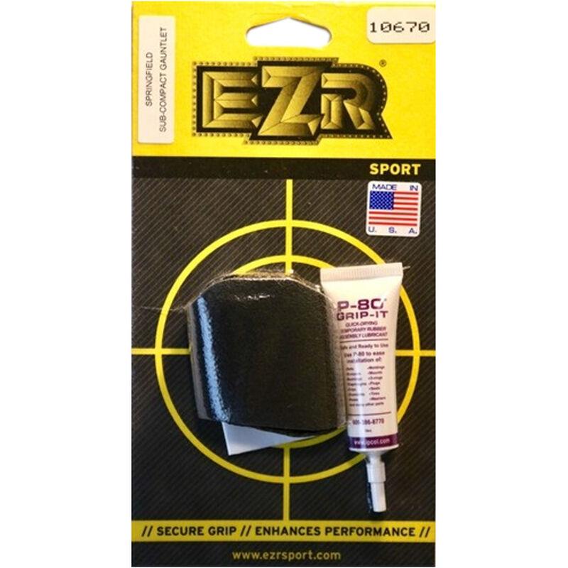 EZR Sport Gauntlet Grip Sleeve Springfield XD Sub-Compact Sorbothane Black