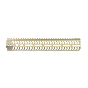 "ODIN Works LR-308 High Profile 12.5"" M-LOK Free Float Forend FDE Finish"