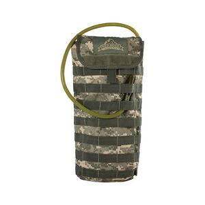 """Red Rock Outdoors MOLLE Hydration Pack with 2.5 Liter Hydration Bladder 8.5""""x17""""x1.5"""" Polyester ACU Camo"""
