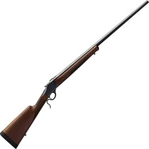 "Winchester Model 1885 High Wall Hunter Falling Block Rifle .243 Win 28"" Barrel 1 Round Walnut Stock Polished Blued"