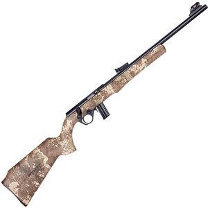 "Rossi RB22 .22 LR Bolt Action Rimfire Rifle 18"" Barrel 10 Rounds Fiber Optic Sight True Timber Strata Synthetic Stock Matte Black Finish"