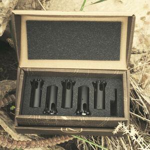 SilencerCo Octane/Osprey Suppressor Piston Kit Limited Edition 5 Total Pistons Matte Black AC728