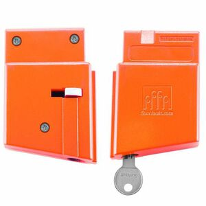 GunVault AR-15 Magvault Breech Lock Orange