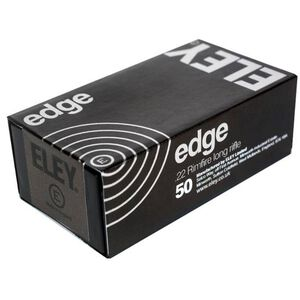 Eley Edge .22 LR 40 Grain Flat Nose 50 Round Box