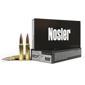 Nosler Match Grade RDF .223 Remington Ammunition 20 Rounds RDF HPBT 70 Grains 2850 fps