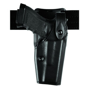 Safariland Model 6285 SLS Low-Ride Duty Belt Holster Right Hand Level II Retention Fits GLOCK 17/22 Hardshell STX Basket Weave Black
