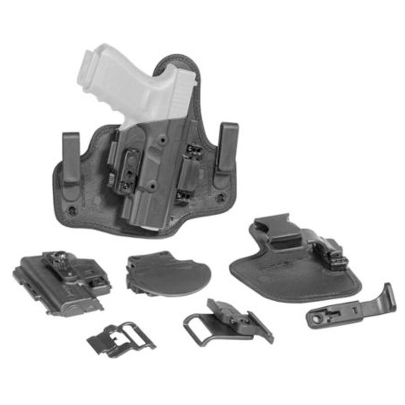 Alien Gear ShapeShift Core Carry Pack Modular Holster System Fits M&P 380 Shield EZ IWB/OWB Multi-Holster Kit Left Handed Black