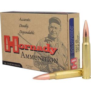 Hornady Vintage Match 8mm Mauser Ammunition 20 Rounds BTHP 196 Grains 82298