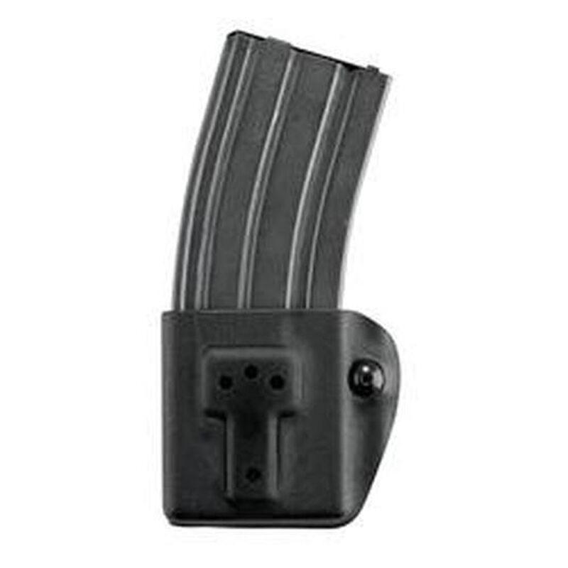 "Safariland Model 774 Rifle Magazine Pouch AR-15/HK416 Magazine 1.5"" to 2.25"" Belt Width SafariLaminate Tension Device Belt Loop Mount Black 774-215-13"