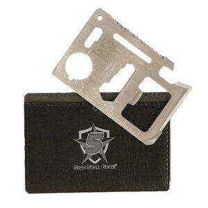 5ive Star Gear Multi-Purpose Survival Tool Multitool Stainless Steel