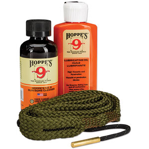 Hoppe's 1-2-3 Done Complete Firearm Cleaning Kit for Rifles Chambered in .223/5.56/.22 Long Rifle Calibers Includes Bore Solvent/Lubricating Oil/Bore Snake