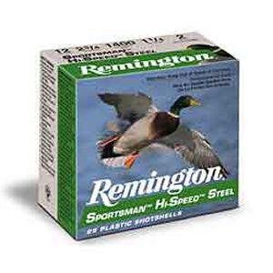 """Remington 12 Gauge 3"""" #2 Steel 1.375 oz 25 Round Box"""