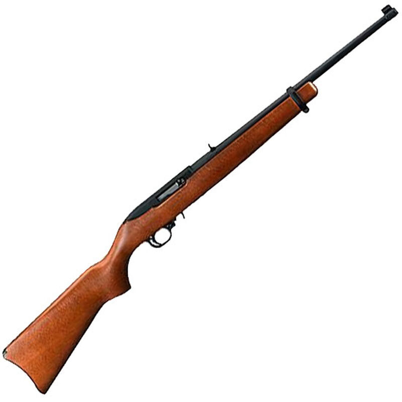 "Ruger 10/22 22 LR Semi Auto Rifle 18.5"" Barrel 10 Rounds Wood Stock"