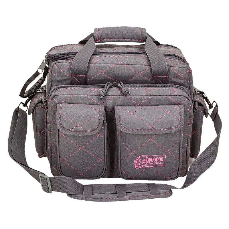 Voodoo Tactical Standard Scorpion Range Bag Nylon Gray/Pink