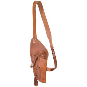 El Paso Saddlery 1942 Tanker Holster 1911 Government Right Hand Leather Brown T1911RR