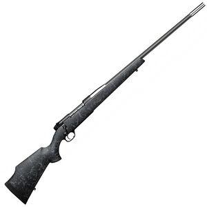 "Weatherby Mark V Accumark Bolt Action Rifle 6.5 Creedmoor 24"" Barrel 4 Rounds Black Synthetic Stock"