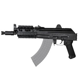 "Arsenal SAM7K AK-47 7.62x39mm Semi Auto Pistol 10.5"" Barrel 5 Rounds Milled Receiver Quad Rail Matte Black"