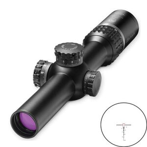 Burris XTR II 1-5x24 Riflescope Ballistic 5.56 Gen 3 Illuminated Reticle 1/10 MIL Adjustment M.A.D. System Matte Black