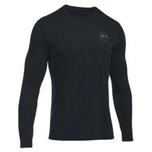 Under Armour UA Freedom Threadborne Siro Men's Long Sleeve Shirt 3XL Polyester Black
