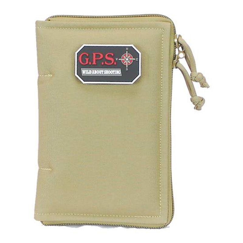 G-Outdoors Medium Pistol Sleeve Lockable Nylon Tan