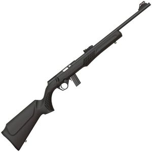 "Rossi RB22 Bolt Action Rimfire Rifle .22 LR 18"" Barrel 10 Rounds Fiber Optic Sight Synthetic Stock Matte Black Finish"
