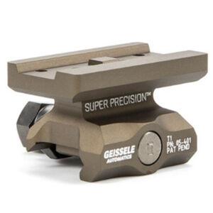 Geissele Super Precision Aimpoint T-1 Optic Mount Absolute Co-Witness Aluminum Desert Dirt 05-401S