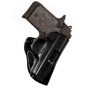 DeSantis 019 Mini Scabbard SCCY CPX 1 and 2 Belt Holster Right Hand Leather Black 019BAY6Z0
