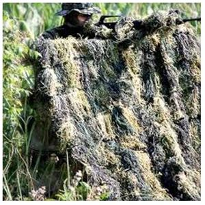 Red Rock Outdoor Gear Ghillie Blind Camouflage Netting 5'x12' Woodland 70935