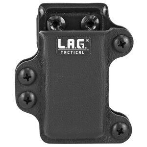 L.A.G Tactical M.C.S Pistol .380 Magazine Carrier Kydex Black Finish