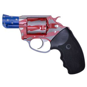 "Charter Arms Old Glory Revolver .38 Special 2"" Barrel 5 Rounds Black Rubber Grips Red/White/Blue 23872"